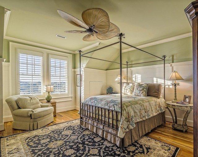 Urządzamy sypialnię w stylu Hampton.